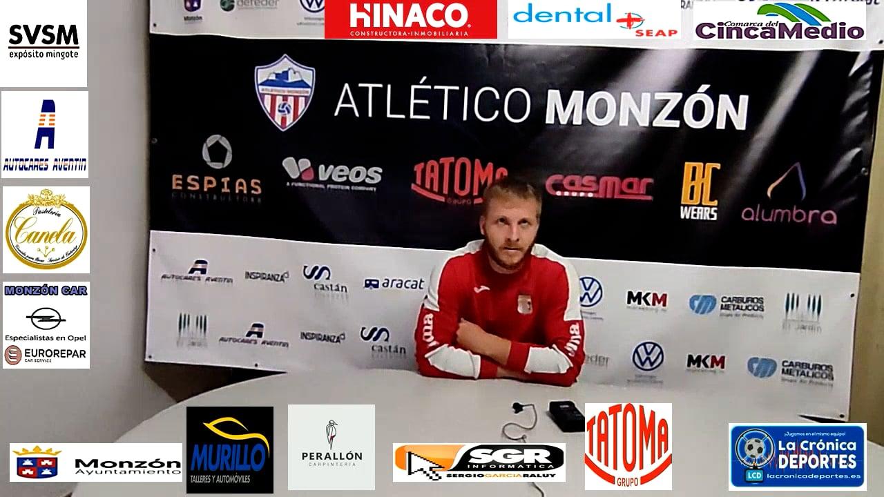 KAROL LOSIN (Jugador Illueca) AT Monzón 0-1 Illueca / J 7 / 3ª División