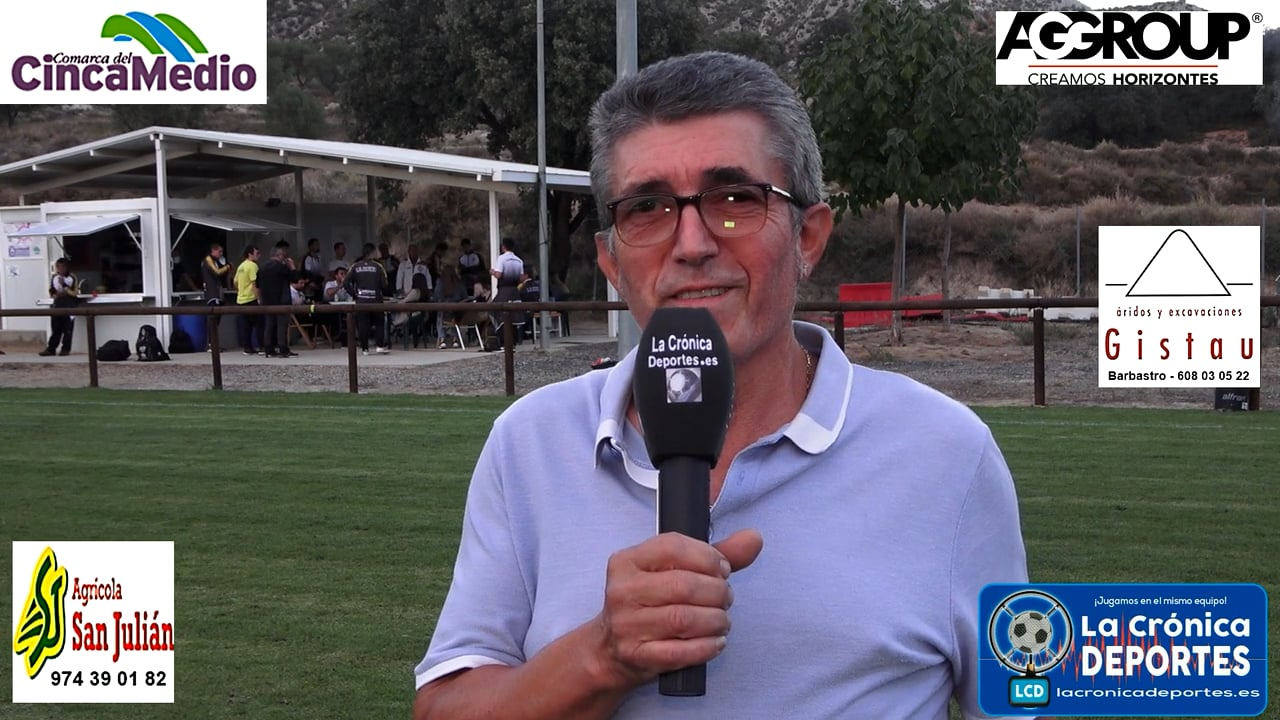 MIGUEL BALLABRIGA (Presidente Almunia S J) Almunia S Juan 1-1 P. Ferranca Tella / Jornada 6 / Preferente - Gr 1