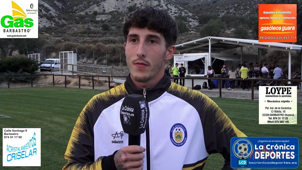DANI CEBOLLA (Jugador Almunia S J) Almunia S Juan 1-1 P. Ferranca Tella / Jornada 6 / Preferente - Gr 1