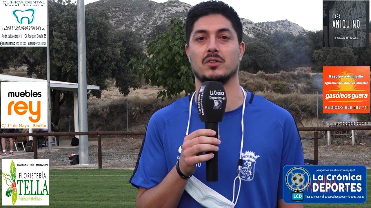 CRISTIAN LALUEZA (Jugador P Ferranca) Almunia S Juan 1-1 P. Ferranca Tella / Jornada 6 / Preferente - Gr 1