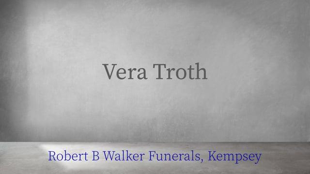 Vera Troth