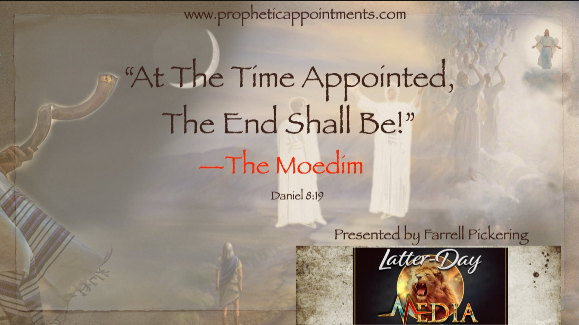 Farrell Pickering - PART 1 The Time Appointed - Sisters of Liberty