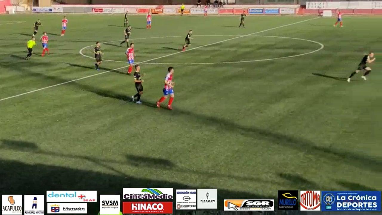 (RESUMEN y GOL) AT Monzón 0-1 Illueca / J 7 / 3ª División