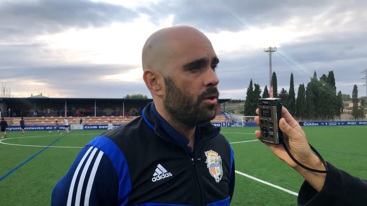 CARLOS GIL (Entrenador Caspe) CD Caspe 1-0 CD Cuarte / Jornada 7 / 3ª División / Fuente YouTube CD Caspe