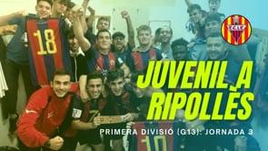 Resum: juvenil A FC l'Escala 9 - 1 AE Ripollès