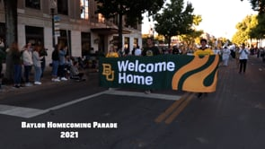 Images from the Baylor Homecoming Parade 2021.mp4