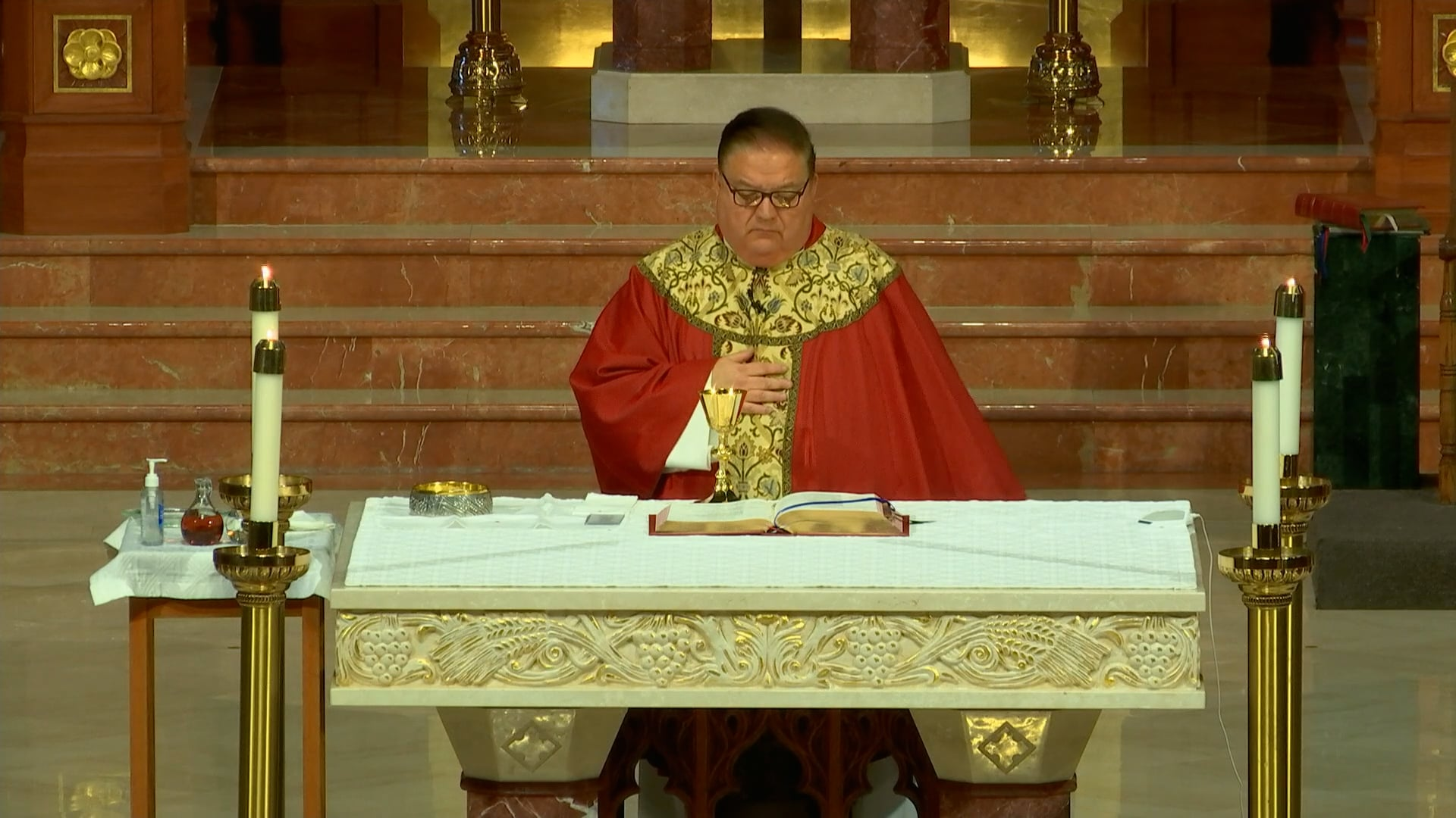 Mass from Agnes Cathedral - October 18, 2021