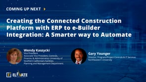 Creating the Connected Construction Platform with ERP to e-Builder Integration: A Smarter Way To Automate