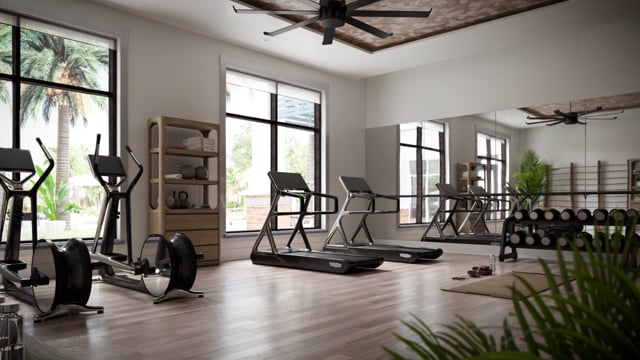 Fitness Center, Yoga Studio and Pool