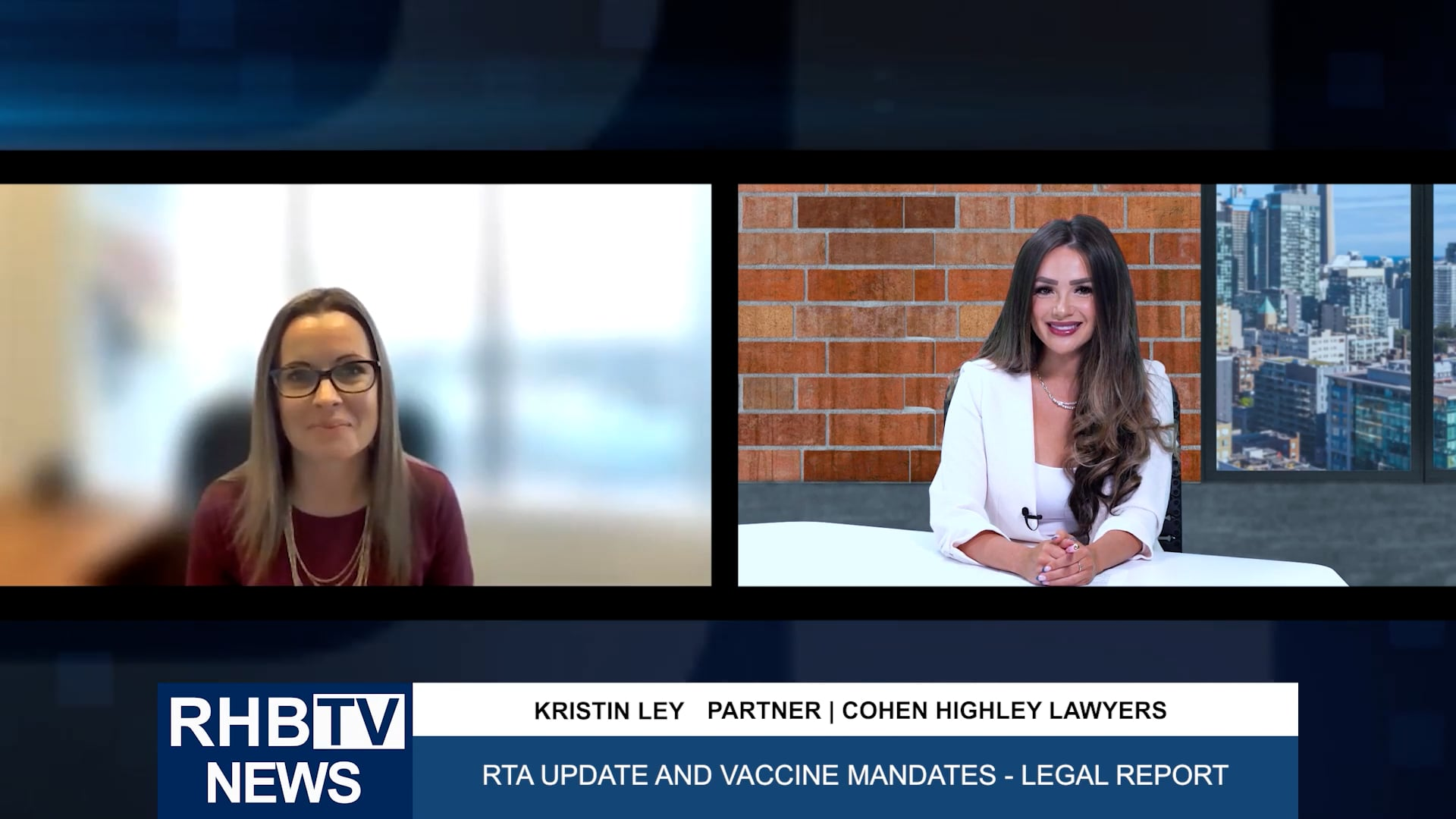 RTA Update and Vaccine Mandates with Kristin Ley