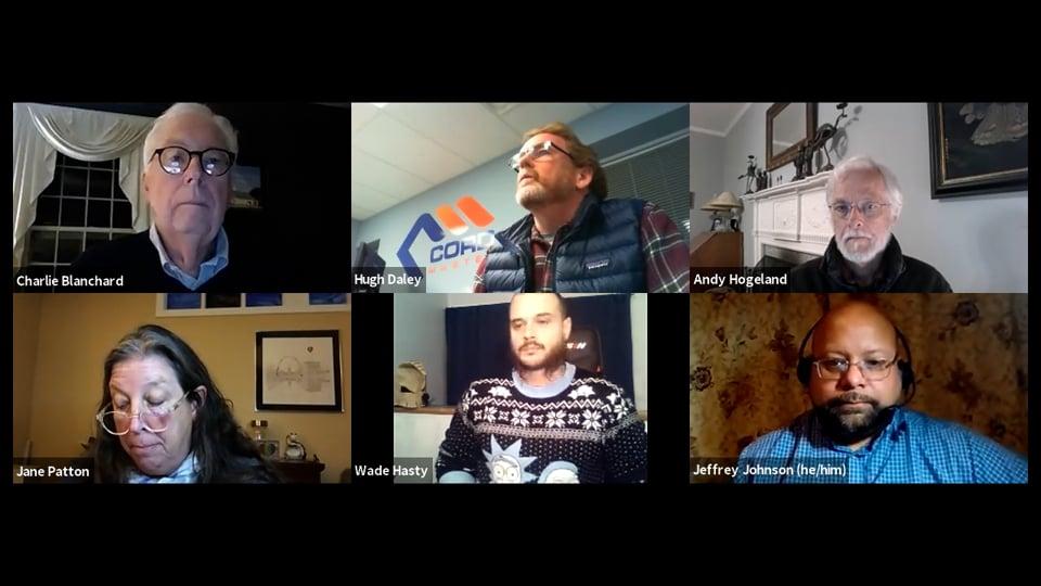 Select Board virtual Meeting – 10.18.21