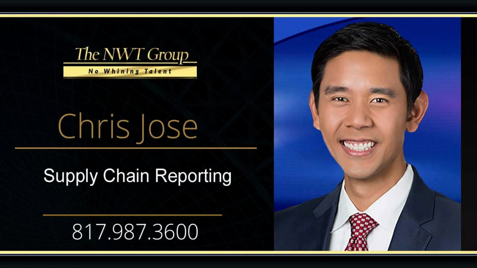 Supply Chain Reporting
