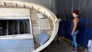 Acaba el taller de reparació de barques de fusta