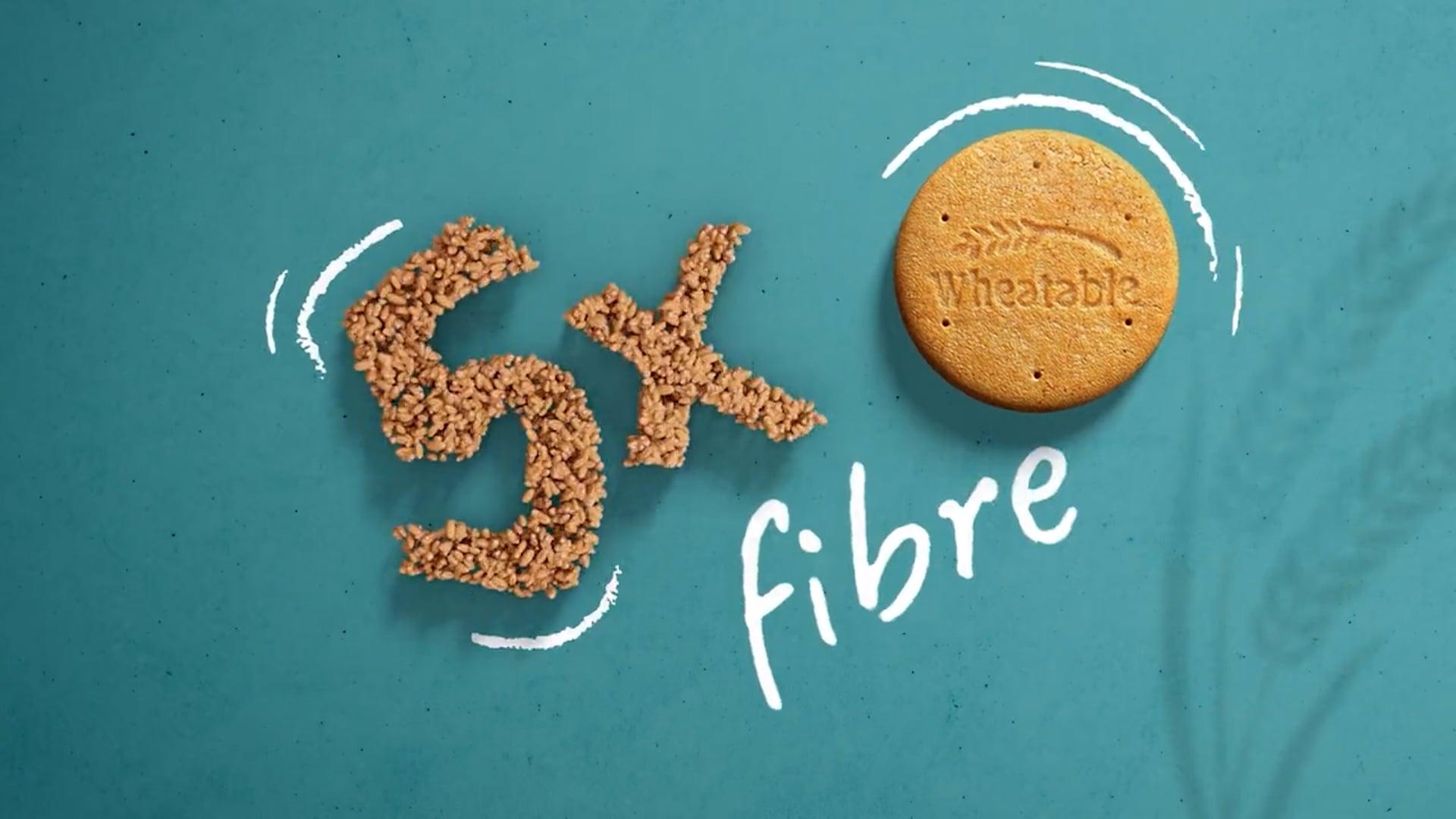 Wheatables 5x Fibre