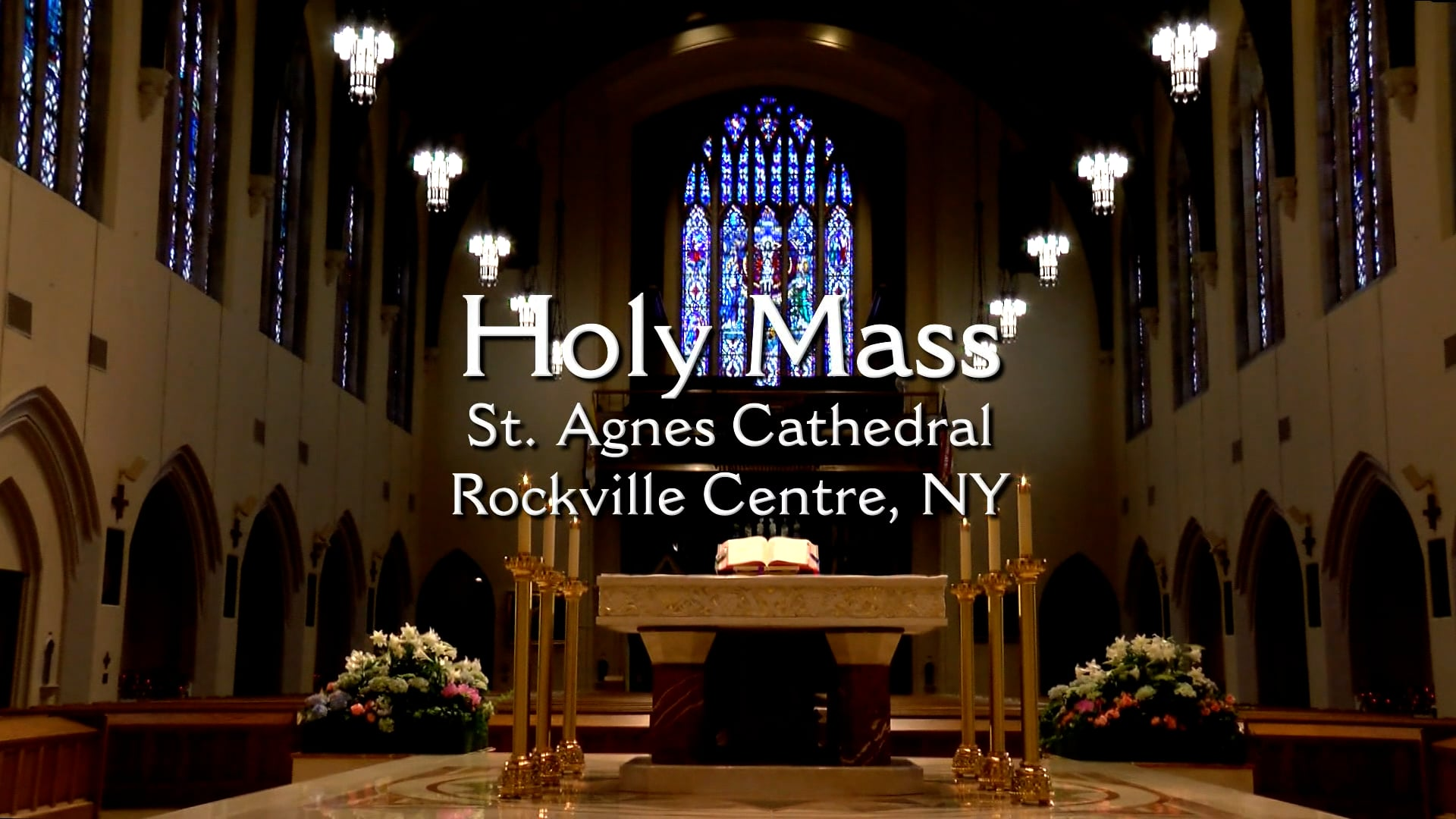 Mass from St. Agnes Cathedral - October 20, 2021