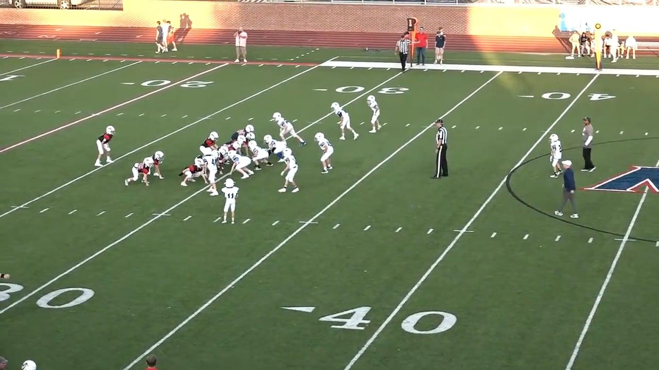 5th Grade Football vs MRA - 10-18-21