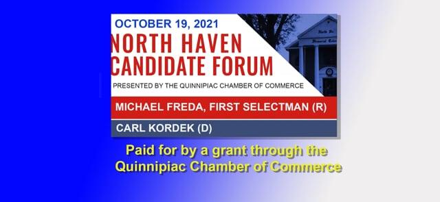 North Haven Candidate Forum 10/19/2021