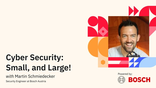Cyber Security: Small, and Large!