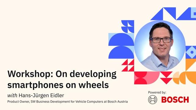 On developing smartphones on wheels