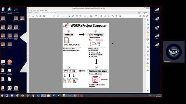 What is the eFORMz Composer?