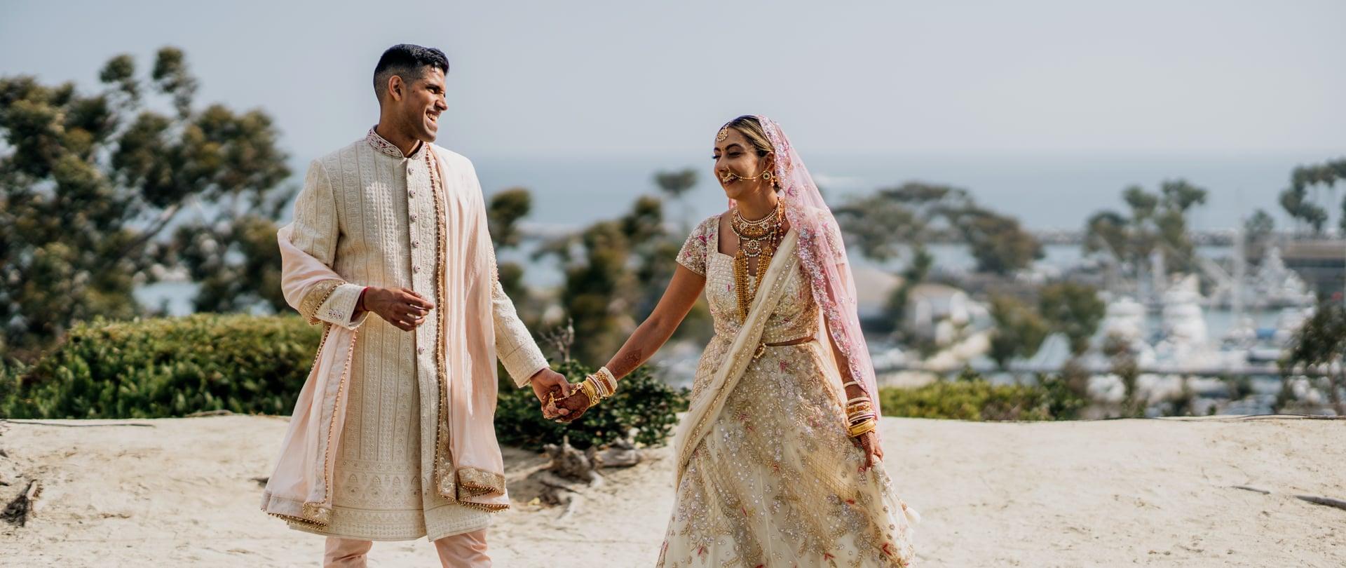 Anjali & Kush Wedding Video Filmed at California, United States