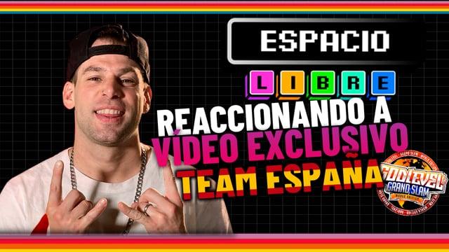 INVERT REACCIONA AL VÍDEO EXCLUSIVO DE TEAM ESPAÑA God Level Grand Slam 2021