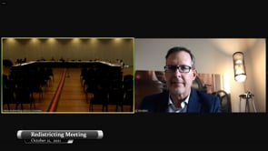 Redistricting Public Meeting, October 2021