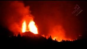Continua l'eruzione del vulcano Cumbre Vieja, alle Canarie