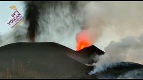 Le impressionanti immagini del vulcano Cumbre Vieja in eruzione