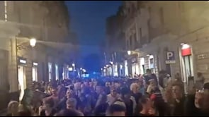 Corteo di protesta contro il Green Pass a Catania