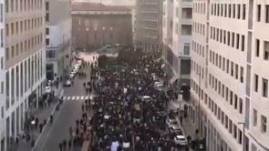 Green Pass, corteo di protesta a Milano