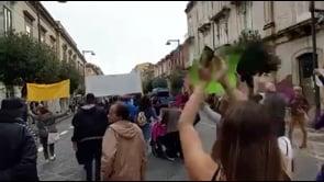 Proteste contro il Green Pass a Siracusa