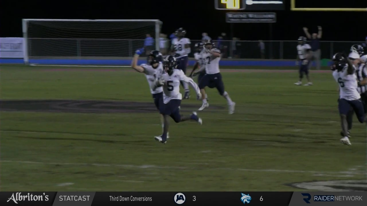 Varsity Football vs Presbyterian Christian - 10-22-21
