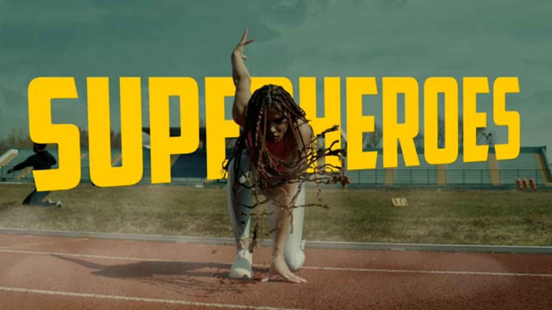 AE - Superheroes (Enjoy Olympics)