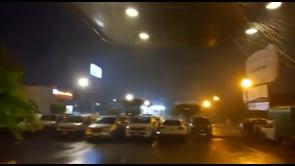 Piogge intense e forti raffiche di vento per l'uragano Rick in Messico