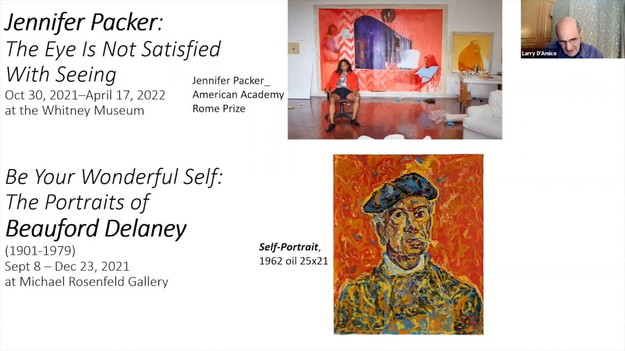 Art Talk :Jennifer Packer & Beauford Delaney