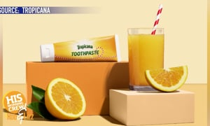 Tropicana Has A New Toothpaste!