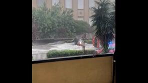 Maltempo, immagini drammatiche da Catania