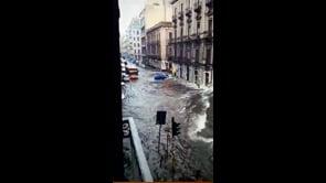 Ondata di maltempo colpisce Catania, le immagini