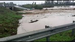 Violenta ondata di maltempo investe Catania