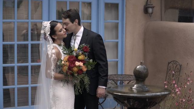 Nick + Carmen Wedding Celebration Highlights - El Monte Sagrado + St Francisco de Asis - Taos NM
