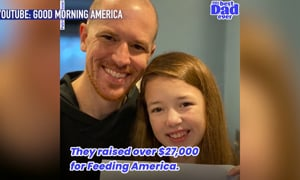 This Father and Daughter Combo Feeds 27k People with Their Book Proceeds!