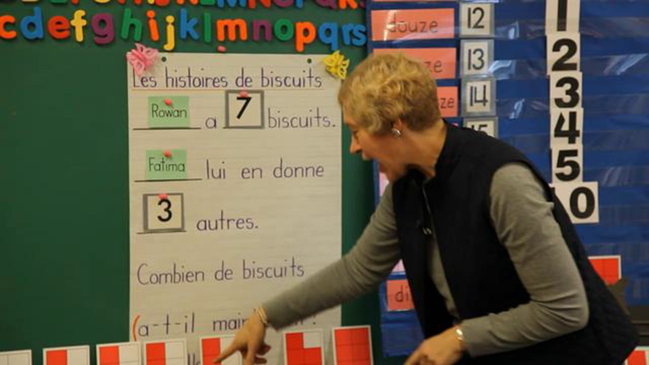 FR K1 Teaching 'Friendly Numbers' Through Problems and Games (Addition)