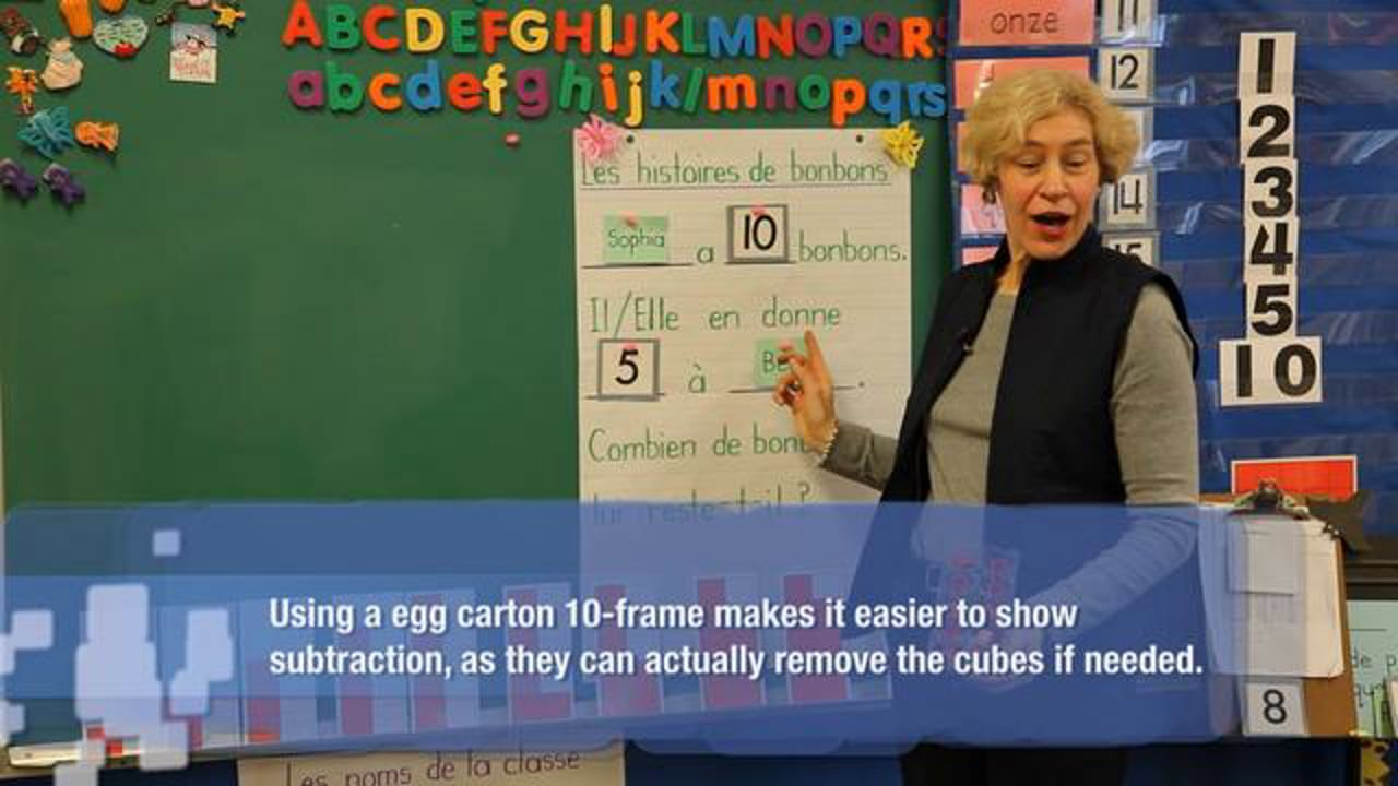 FR K1 Teaching 'Friendly Numbers' Through Problems and Games (Subtraction)