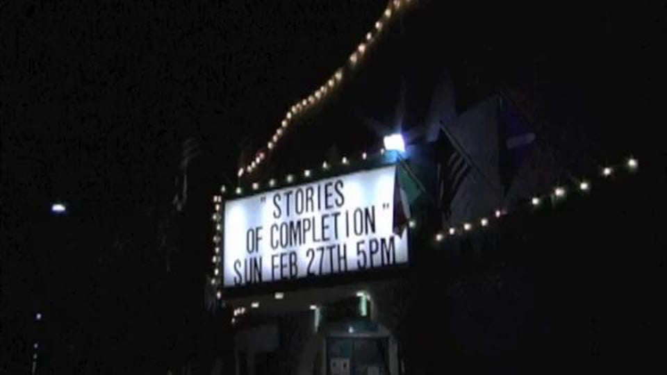 """Reflections from the Carlsbad showing of Twig's """"Stories of Completion"""""""