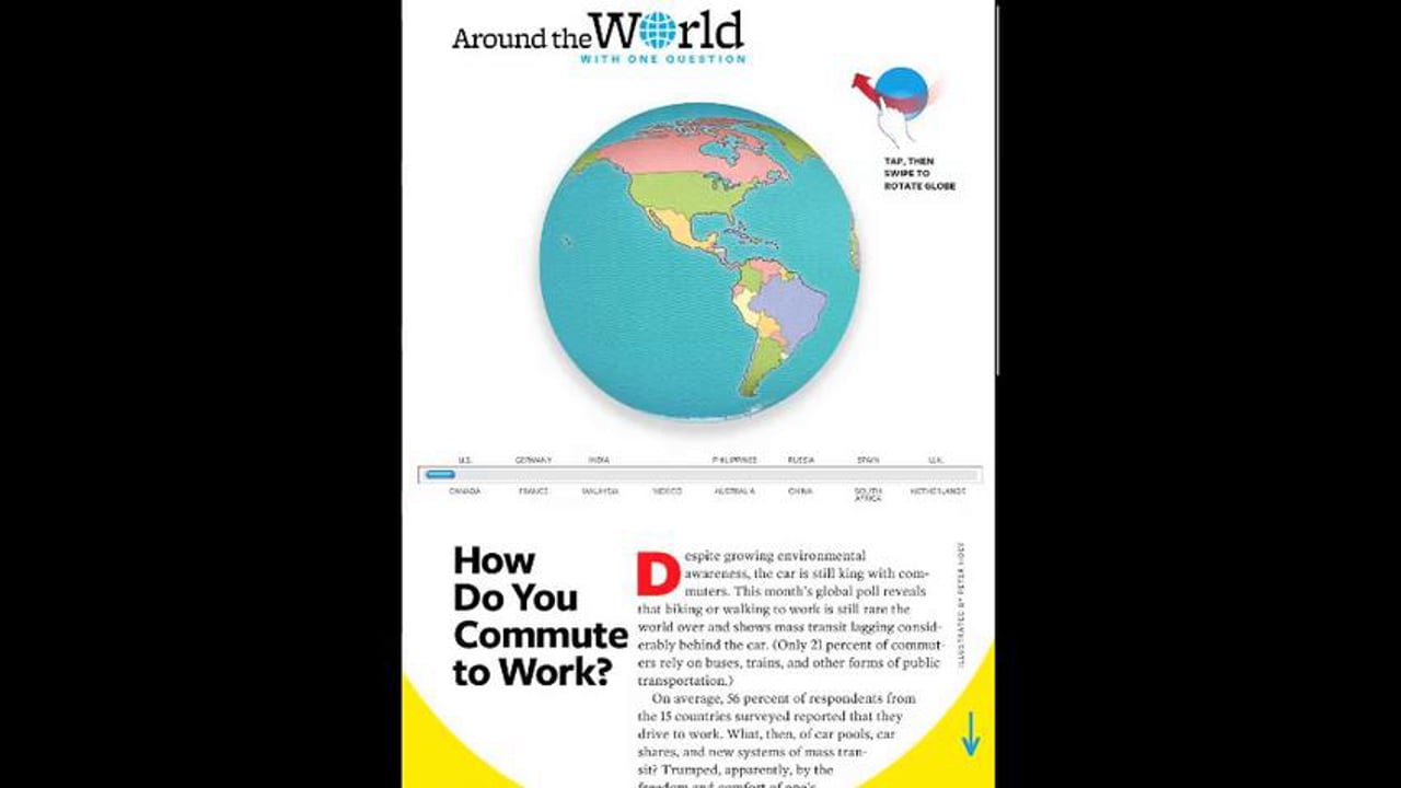 Around the World with One Question