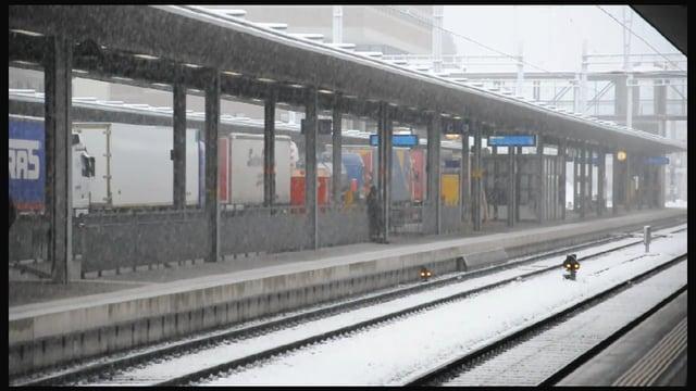 Snow in Spiez