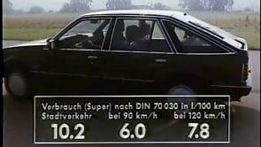 Ascona C 1982 - Ascona CD 1,8E mit 115PS