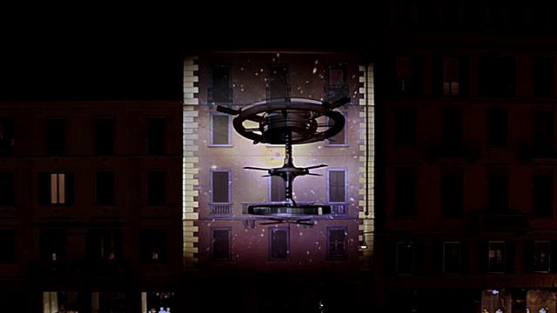 3D Mapping facade projection for Take That Progress Live Tour presented by SAMSUNG