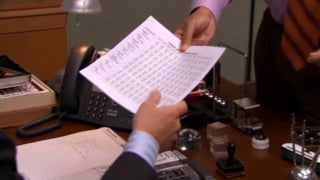 The Office: Fiscal Year Budget thumbnail